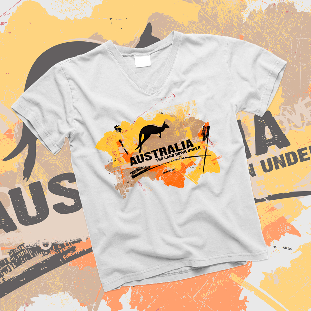The-Land-Down-Under-T-Shirt-Mockup