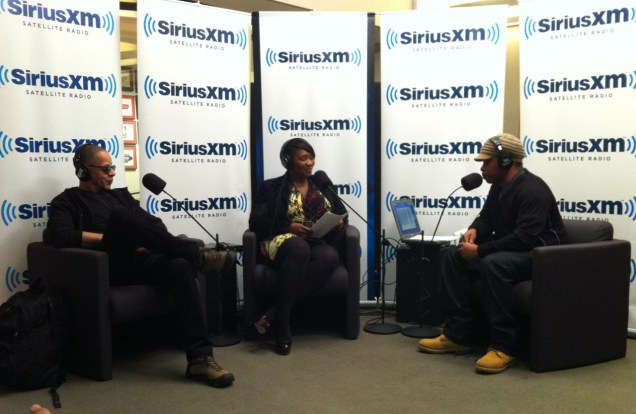 Sirius Interview Bevy Smith and Sway
