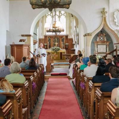 Norfolk wedding photographer – Norwich church