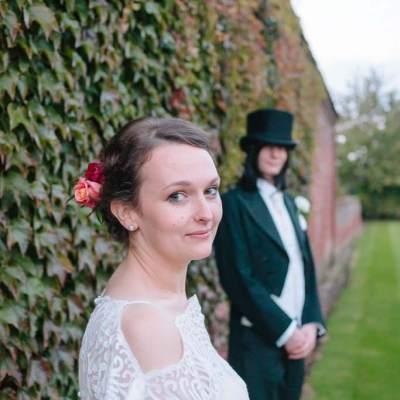 Norfolk wedding photographer – bride and groom lillibrooke manor
