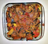 Chicken with Eggplants Casserole