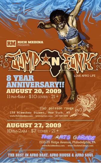 8th Anniversary flyer