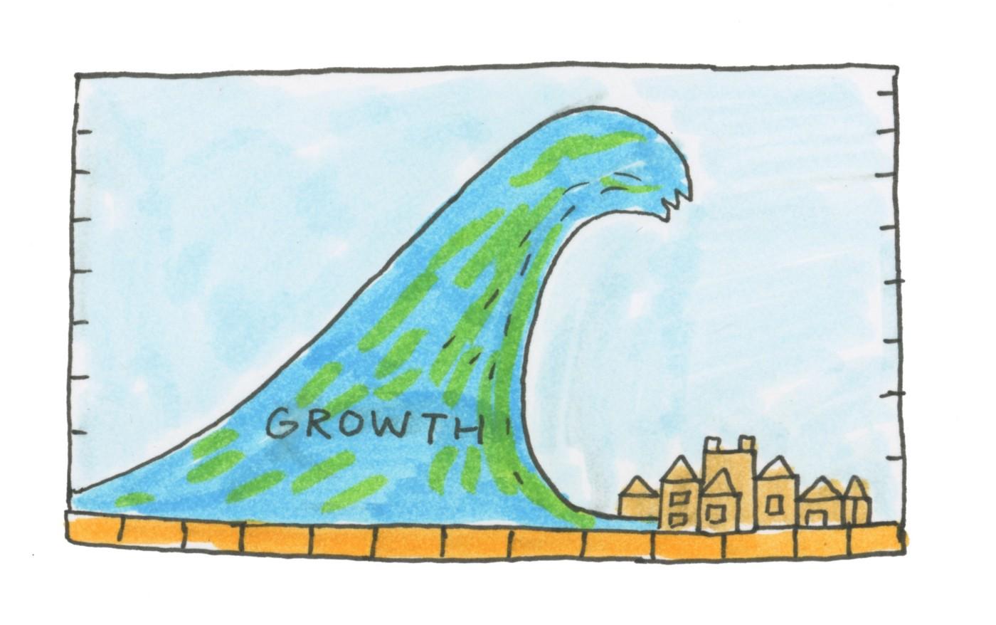 Growth tsunami