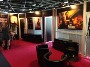 Cannes booth