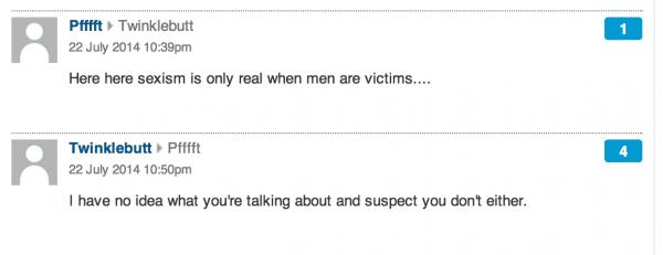 Guardian gender in film comments