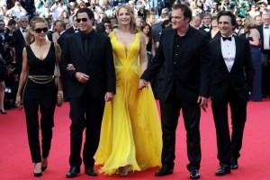 Pulp Fiction cast at Cannes Film Festival