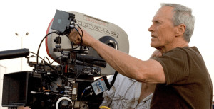 Hollywood director Clint Eastwood