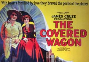 Movie poster for the Covered Wagon