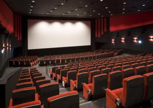 Theatrical distribution in a cinema screen
