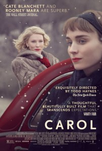 Carol is a british film in Cannes film festival