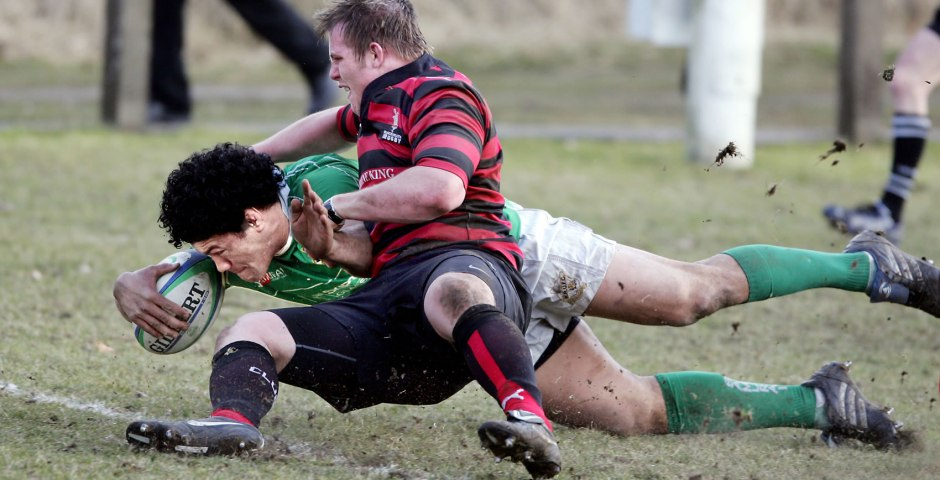 Wharfedale try scorer