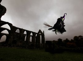 Halloween fun at Bolton Abbey