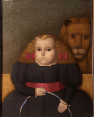 Girl and Lion, by Juan Béjar