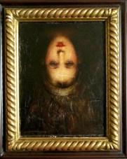 L'infant Marie Dupont (tête en bas), by Charles Matton