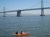 Canoes In San Francisco Bay