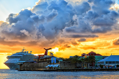 Our Ship in Curacao 2012
