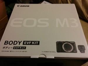Canon EOS-M3 kit