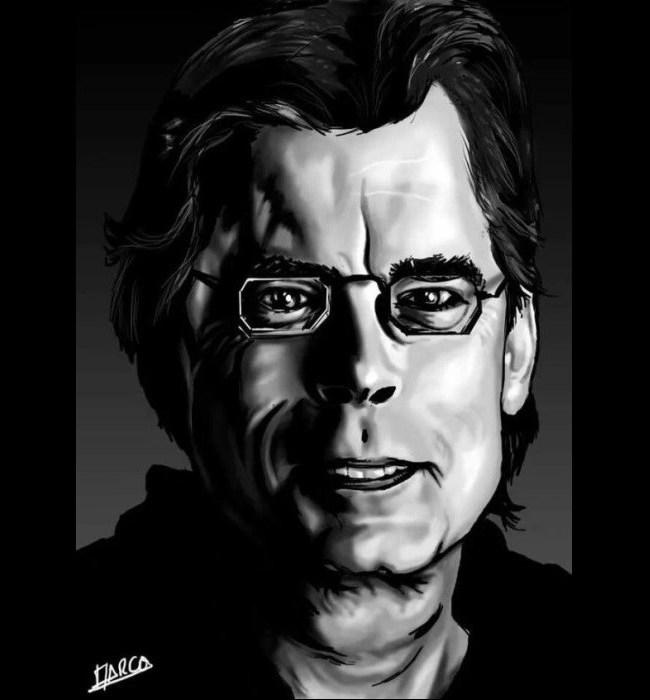 «Stephen King», por Marco Gomez Gomez