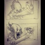 Boceto de Pennywise