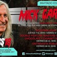 Mick Garris invitado al Festival Rojo Sangre