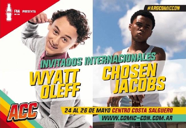 Actores de IT en Argentina Comic-Con 2019