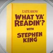 ¿Qué está leyendo King?