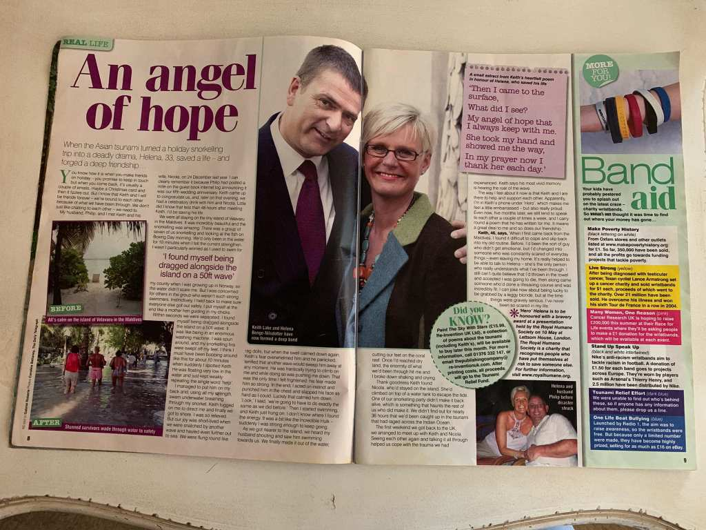 Woman's Own - 9th May 2005 - Angel of Hope - Tsunami