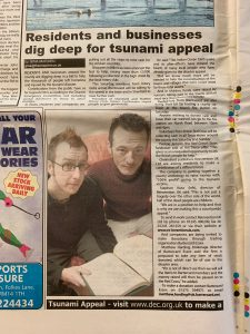 Essex Enquirer - Thursday 6th January 2005 - Stephen Robert Kuta - Paint the Sky with Stars