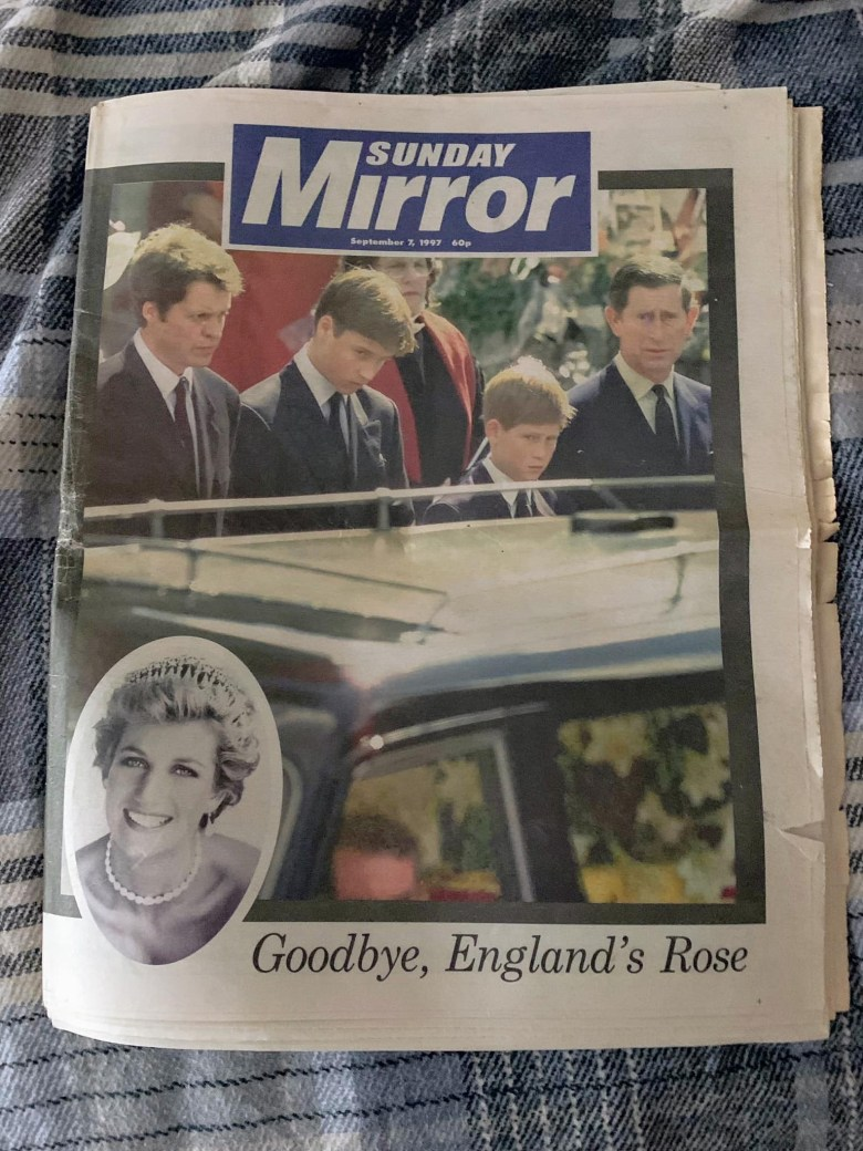 Sunday Mirror - 7th September 1997 - Stephen Robert Kuta - Diana, Princess of Wales
