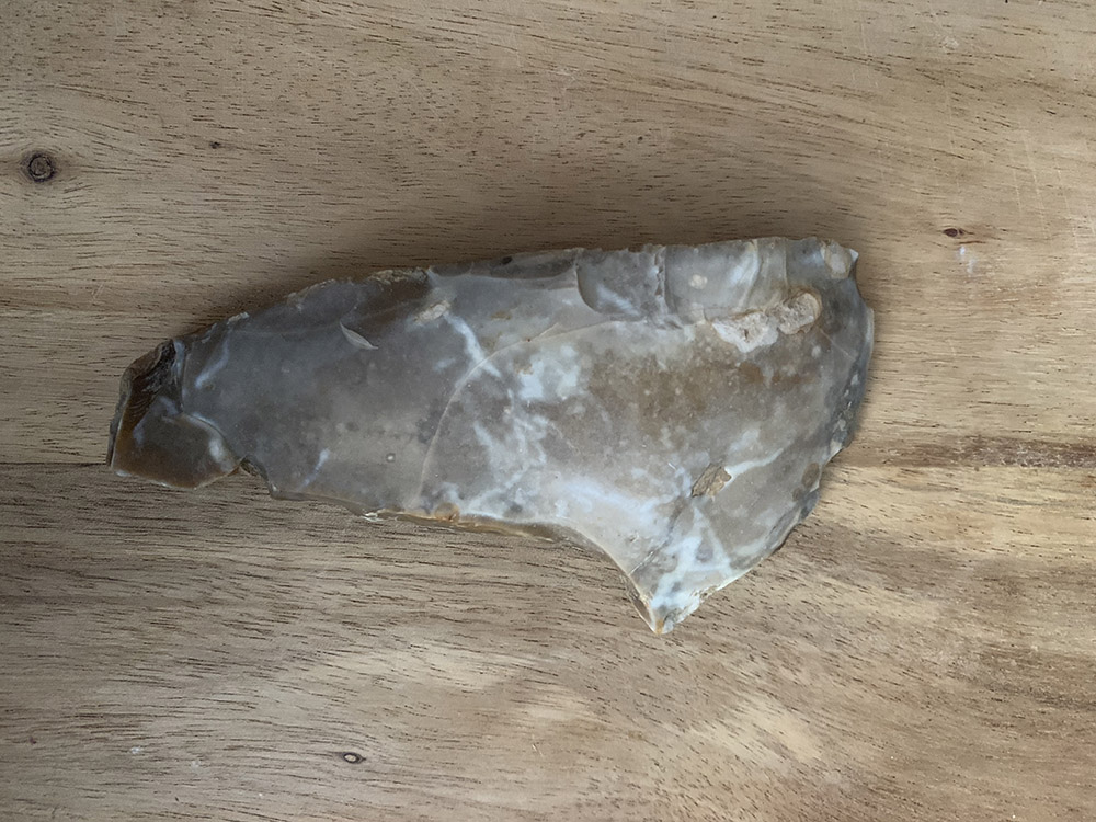 Mesolithic Hooked Blade / Scraper