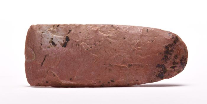 Neolithic Blood Red Flint Axe