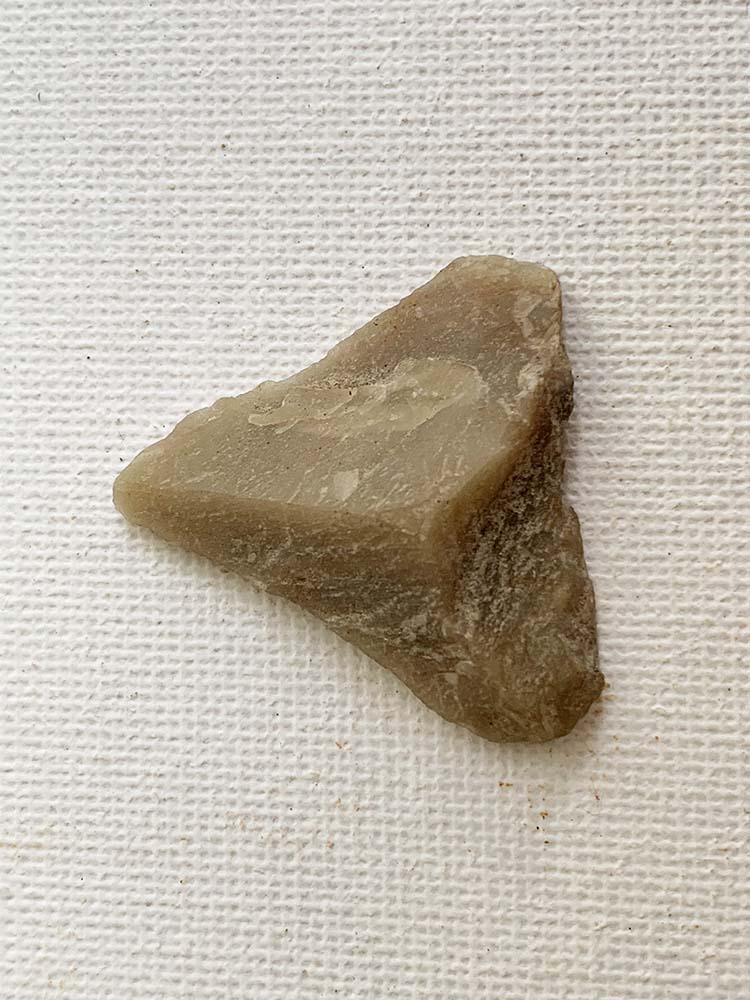 Neolithic Triangular Arrowhead