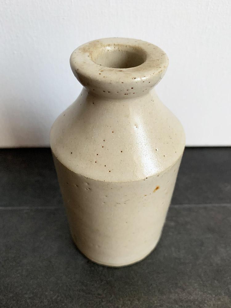 Victorian Grey / Stoneware Bottle