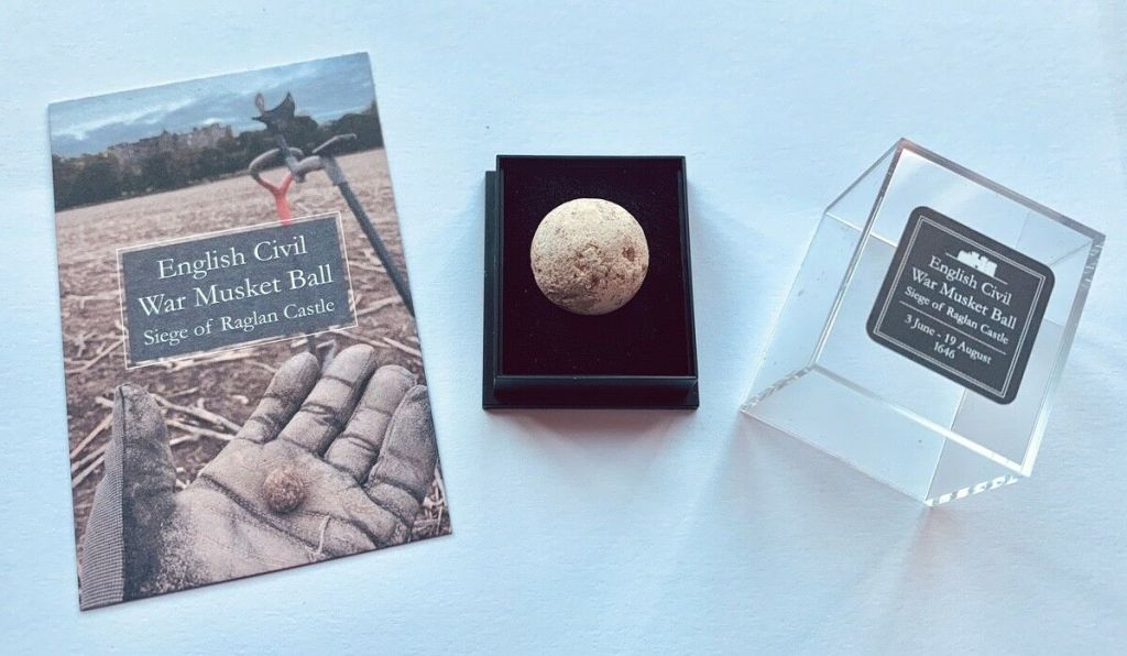 English Musket Ball From The Siege of Raglan Castle