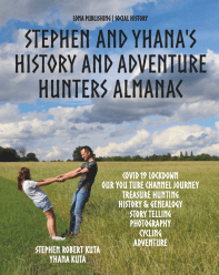 Stephen and Yhana - History and Adventure Hunters Almanac - OUT NOW