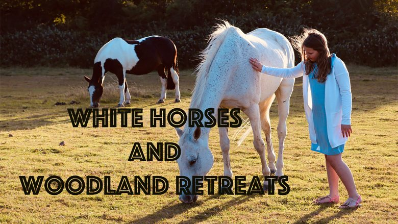 White Horses and Woodland Retreats | Essex Nature Reserve | Moat Woods | Stephen and Yhana | Vlog 8