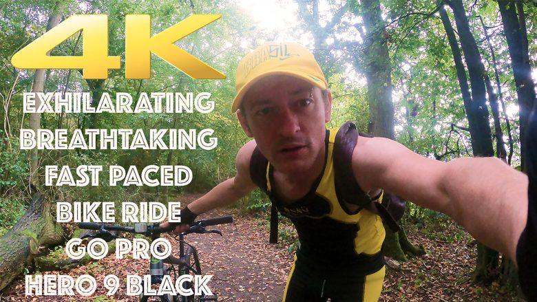 4K HD Exhilarating, Breathtaking Bike Ride through English Woodland filmed on GoPro Hero 9 Black