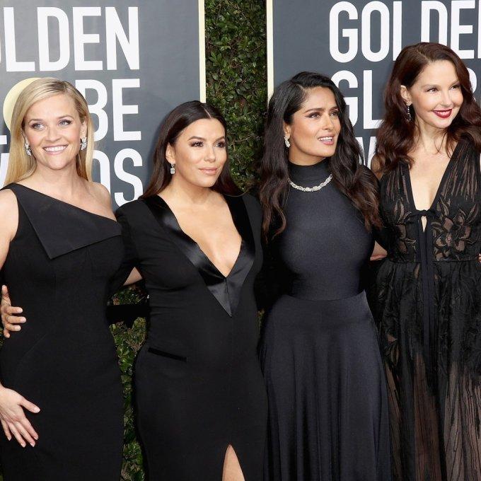 women-wearing-black-golden-globes-2018