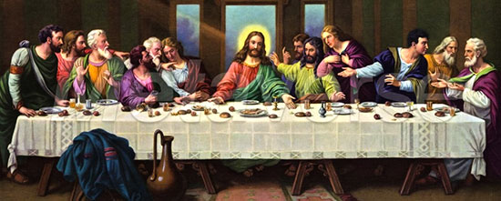 Painting of Last Supper