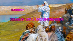 link to video reading of Matthew 7