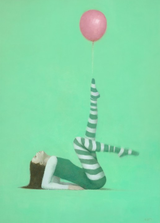 The Pink Balloon I