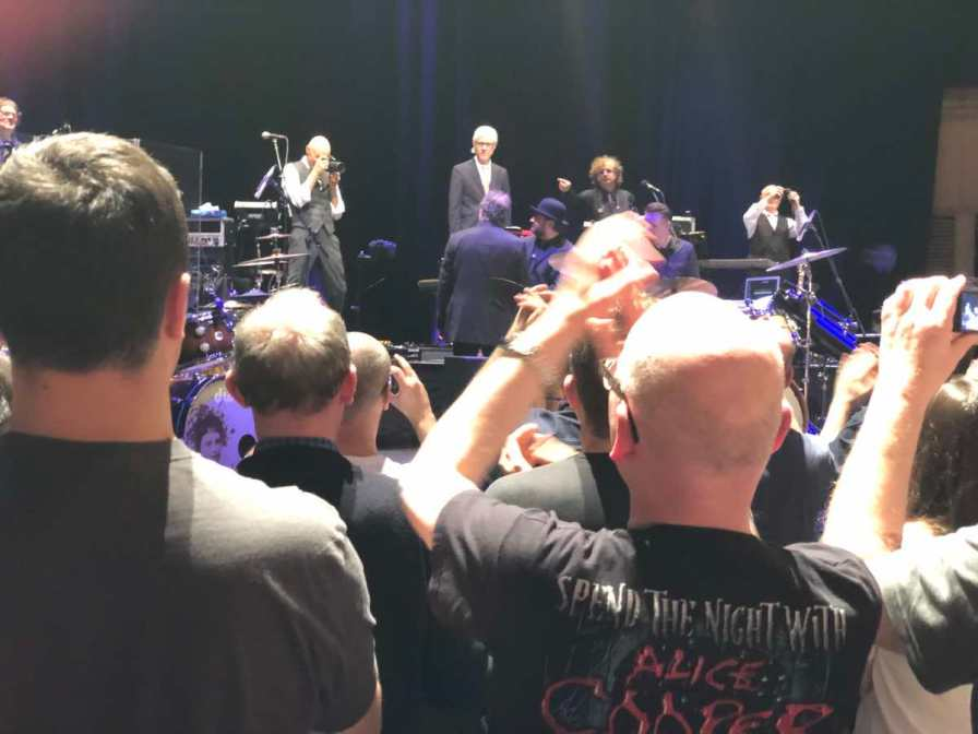 king crimson at the royal concert hall, glasgow