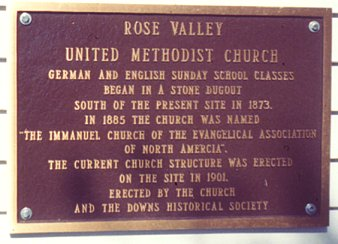 rose valley umc