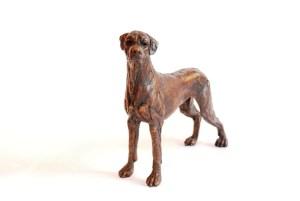 Ridgeback bronze, sculpture