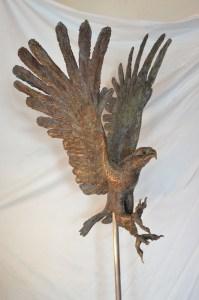 Eagle sculpture,bronze Eagle,aquila