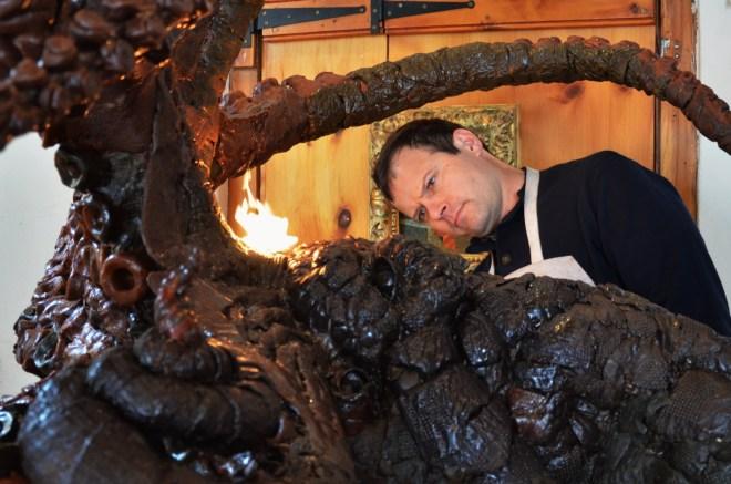 #octopus,#sculptor,