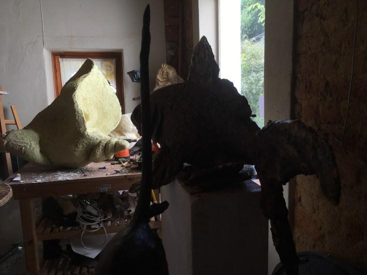 wax sculpture, bronze sculpture,fine art