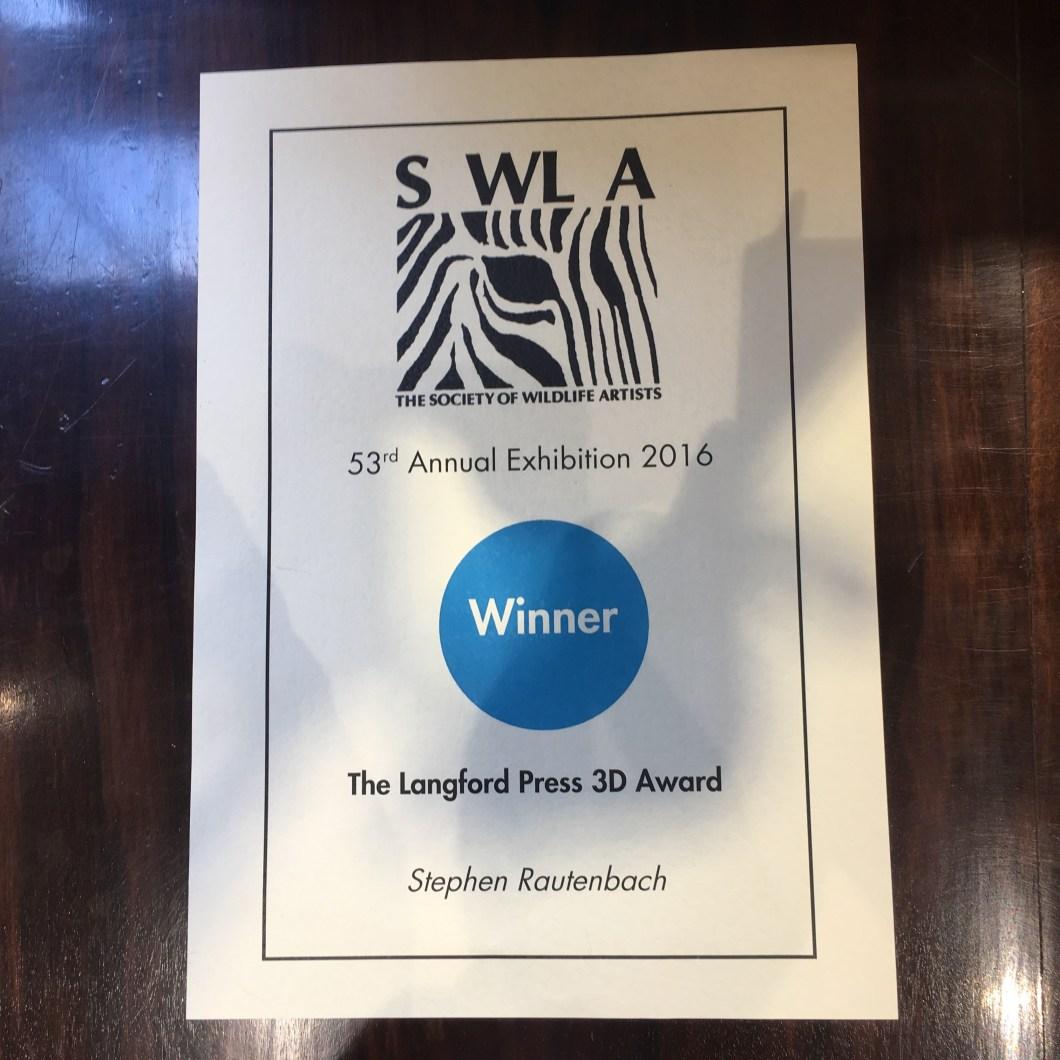 Langford Press Award