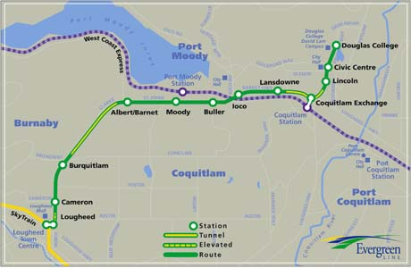 Transportation minister expects fast track for Evergreen Line
