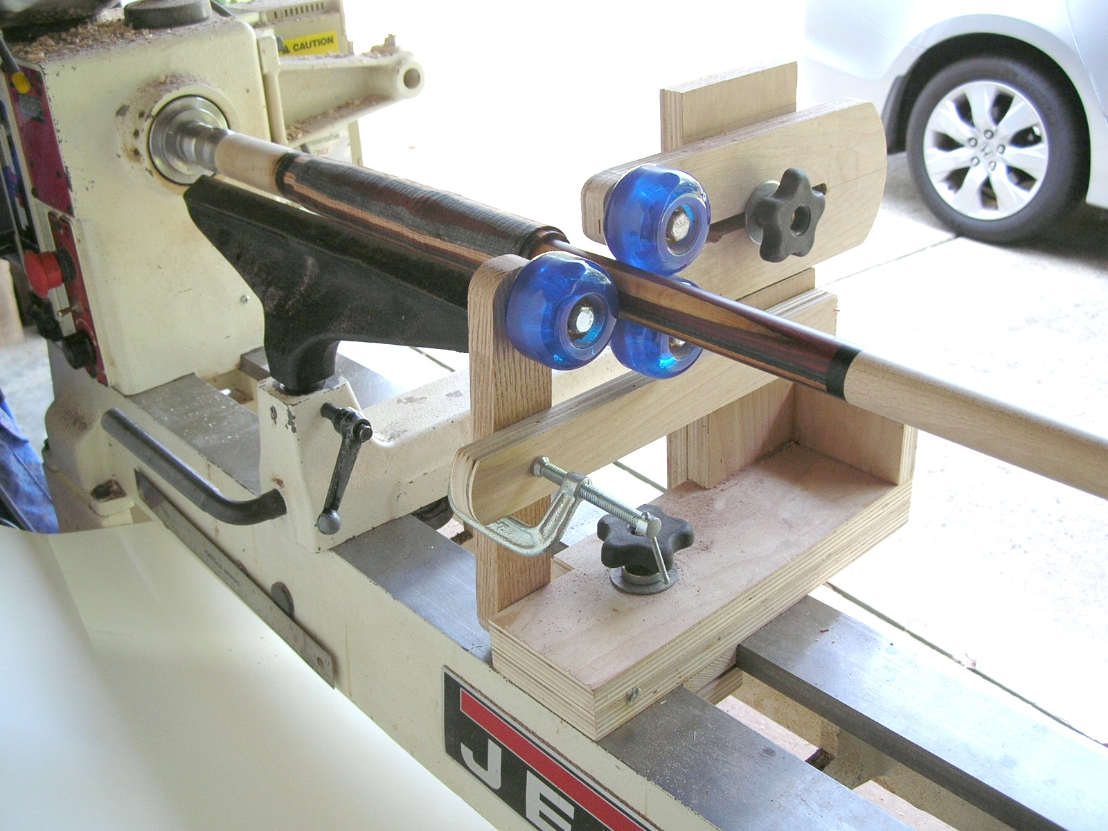 The people end on the lathe
